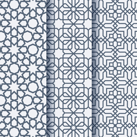 Arabic ornament geometric pattern Illustration