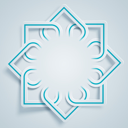 Arabic pattern background Vettoriali