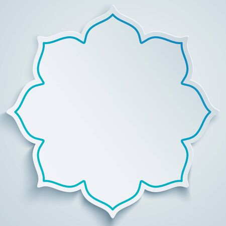islam: Abstact banner design background Illustration