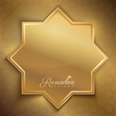 Ramadan Kareem greeting background design