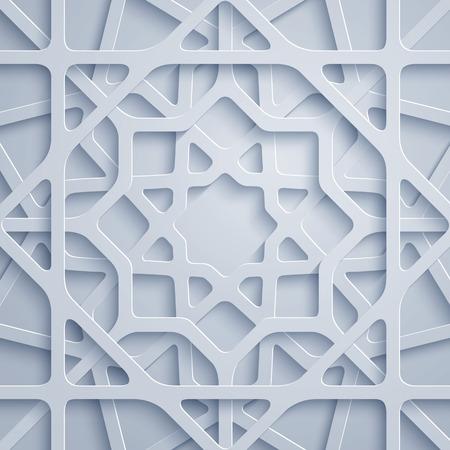아랍어 패턴 기하학적 장식