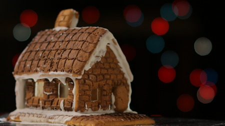 Gingerbread House with background