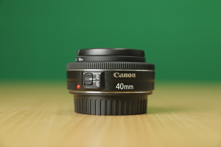 The Canon Lens 40mm