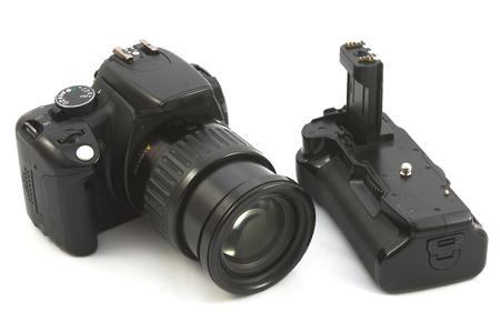 old reflex camera photo