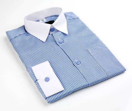 strip shirt: mens shirt with stripes and blue