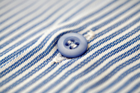 rapprochement: mens shirt, blue button