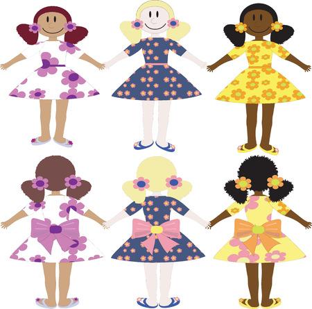 trini: Three girls