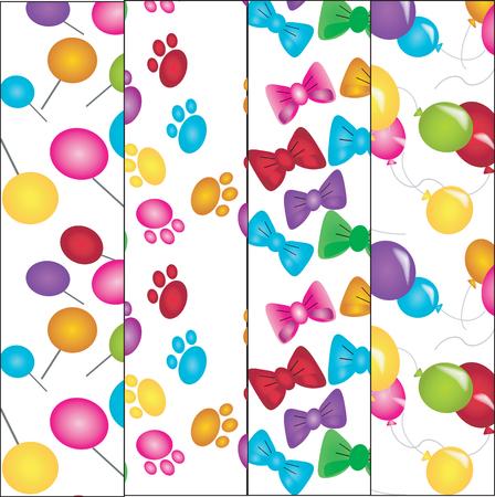 voilet:   Four varicolored textures