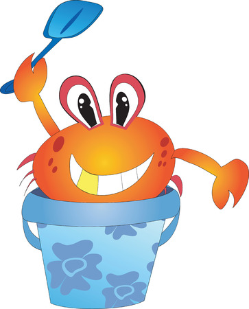 Crab in the bucket