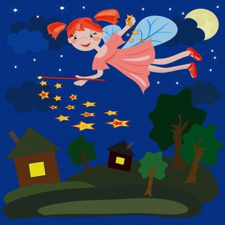 house fly: Night  fairy.