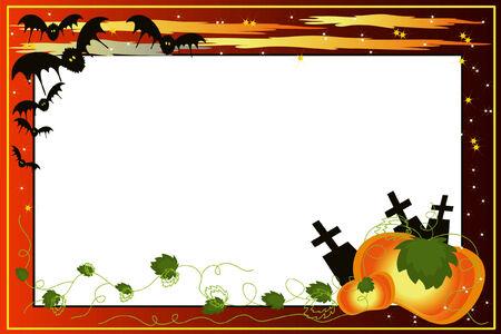 helloween:  Halloween achtergrond.