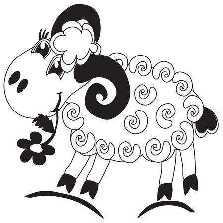Sheep Stock Vector - 8339386