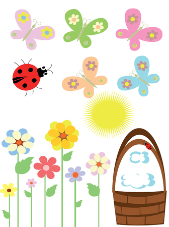 Summer icons Stock Vector - 8516002