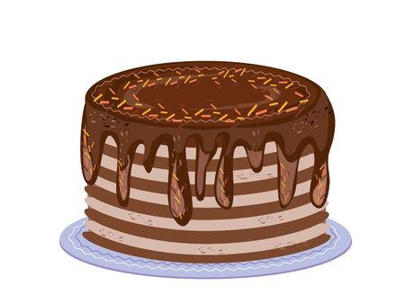 chocolate tart: Pie