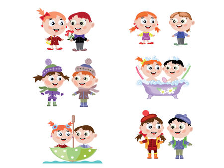 Children Stock Vector - 8623490