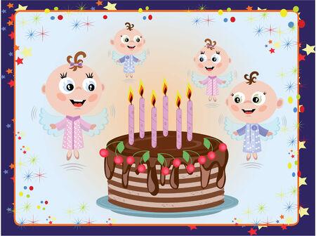 Birthday Stock Vector - 8847592