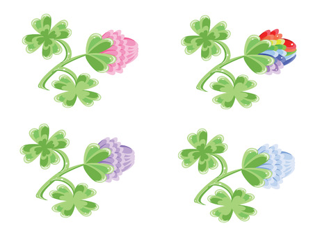 decor with cover Vector