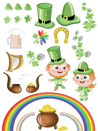 St patricks day symbols photo
