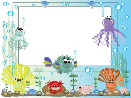 Sea frame photo