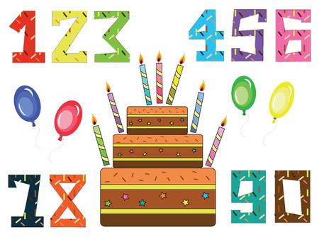 seventieth: Birthday set