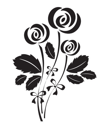 tatty: Roses Illustration