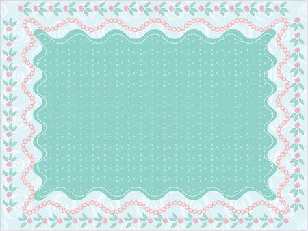 Wedding frame Stock Vector - 9260395