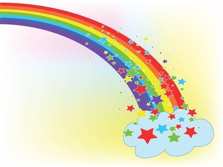Rainbow Stock Vector - 9335375