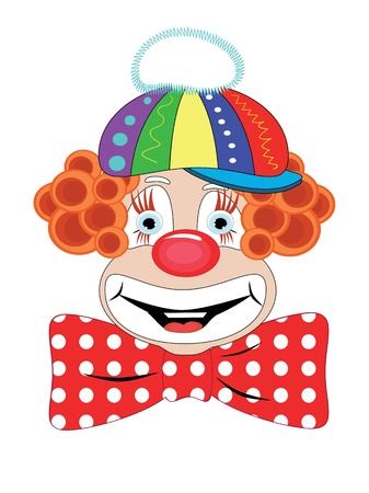 red nose: Clown