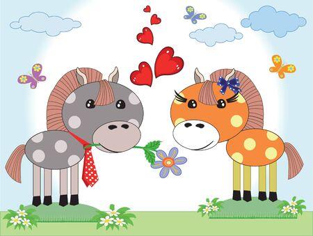 profesar: Dos mangueras de amor