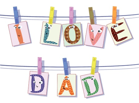 Dad day Stock Vector - 9578411