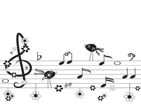 crotchet: Music notes