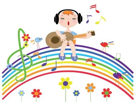 歌: 音楽虹