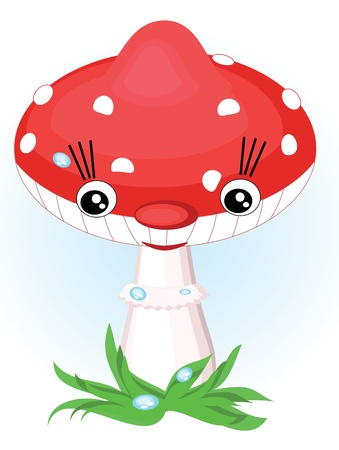 Mushroom Stock Vector - 9688585
