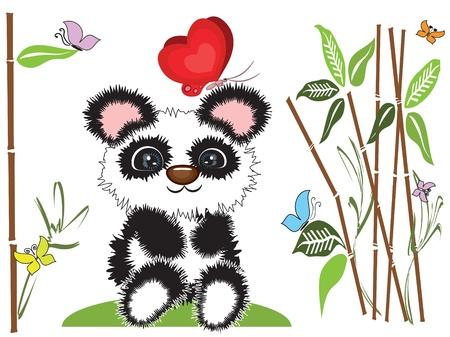 Panda Stock Vector - 9688606