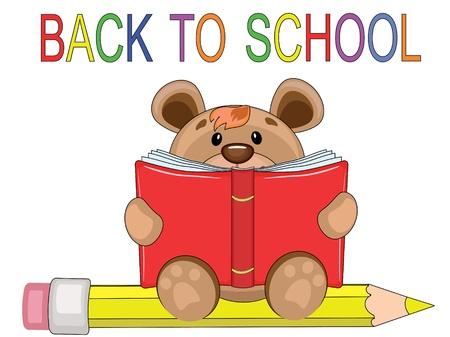 Back to school Stock Vector - 9800371