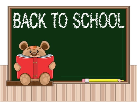 Back to school Stock Vector - 9800379