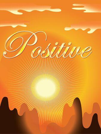 consept:   Positive backround Illustration