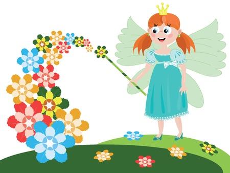Fairy or princess Vector