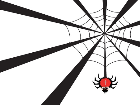 spider web Stock Vector - 9930224