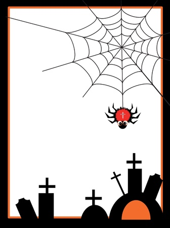 spider web Stock Vector - 9930221