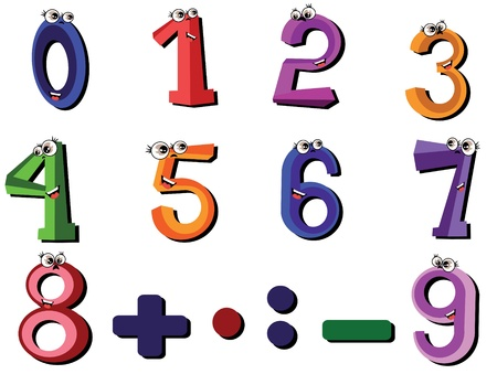 arithmetical: Numbers set