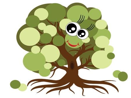 Tree,vector Stock Vector - 9944439