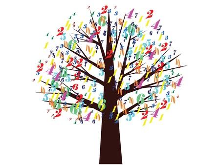 colo: School tree,,vector
