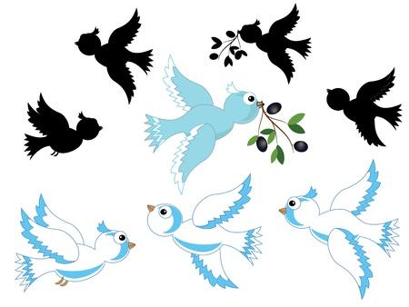 anti war: Doves set