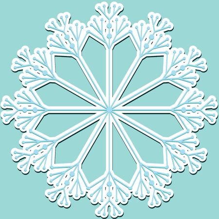 snowflake Stock Vector - 9953045