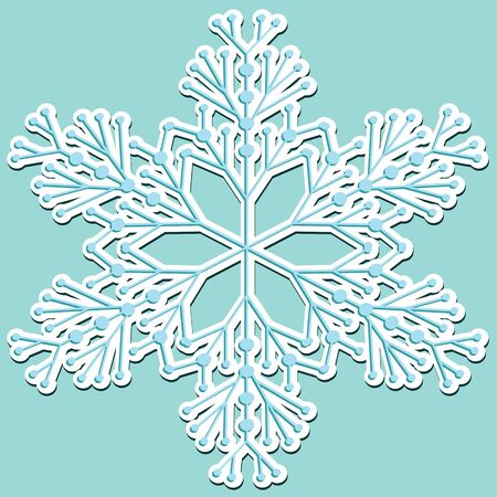 snowflake Stock Vector - 9953047