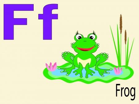 Animal alphabet F Stock Vector - 10265083