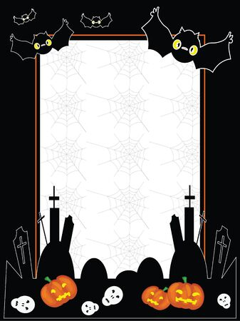 Vector Halloween frame Vector