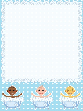 Baby frame  Stock Vector - 10551738