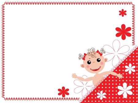 Baby frame Stock Vector - 10534183